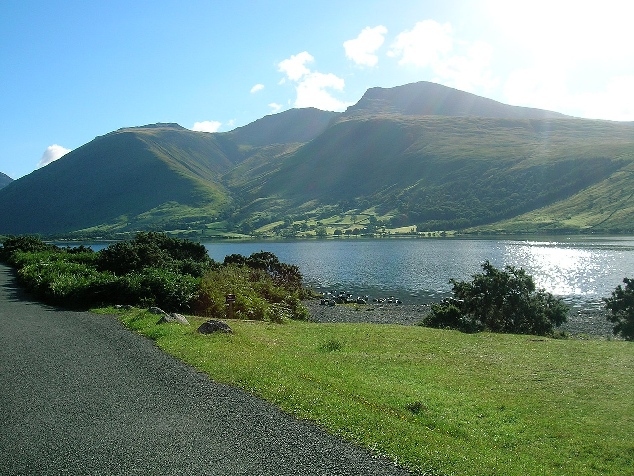 Scafell Pike, England's Tallest Mountain