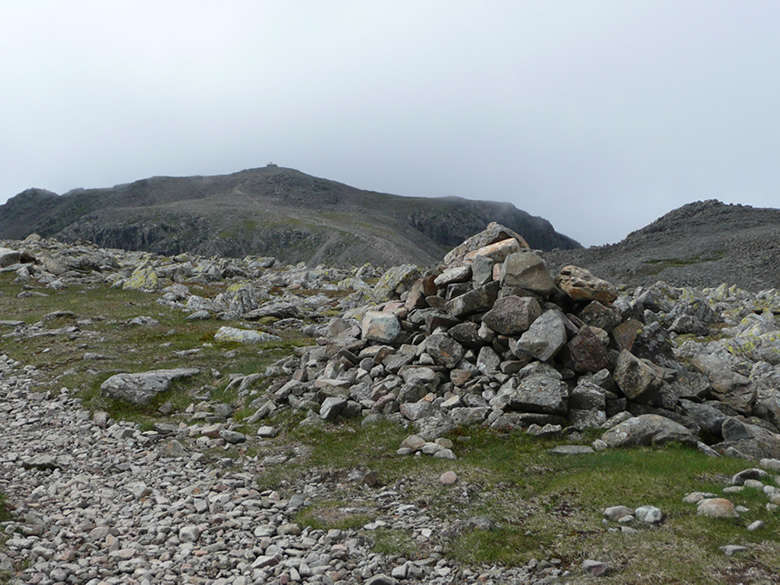 Scafell Pike Routes-first-view-of-scafell-pike-from-broad-crag